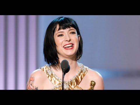 Diablo Cody winning an Original Screenplay Oscar®