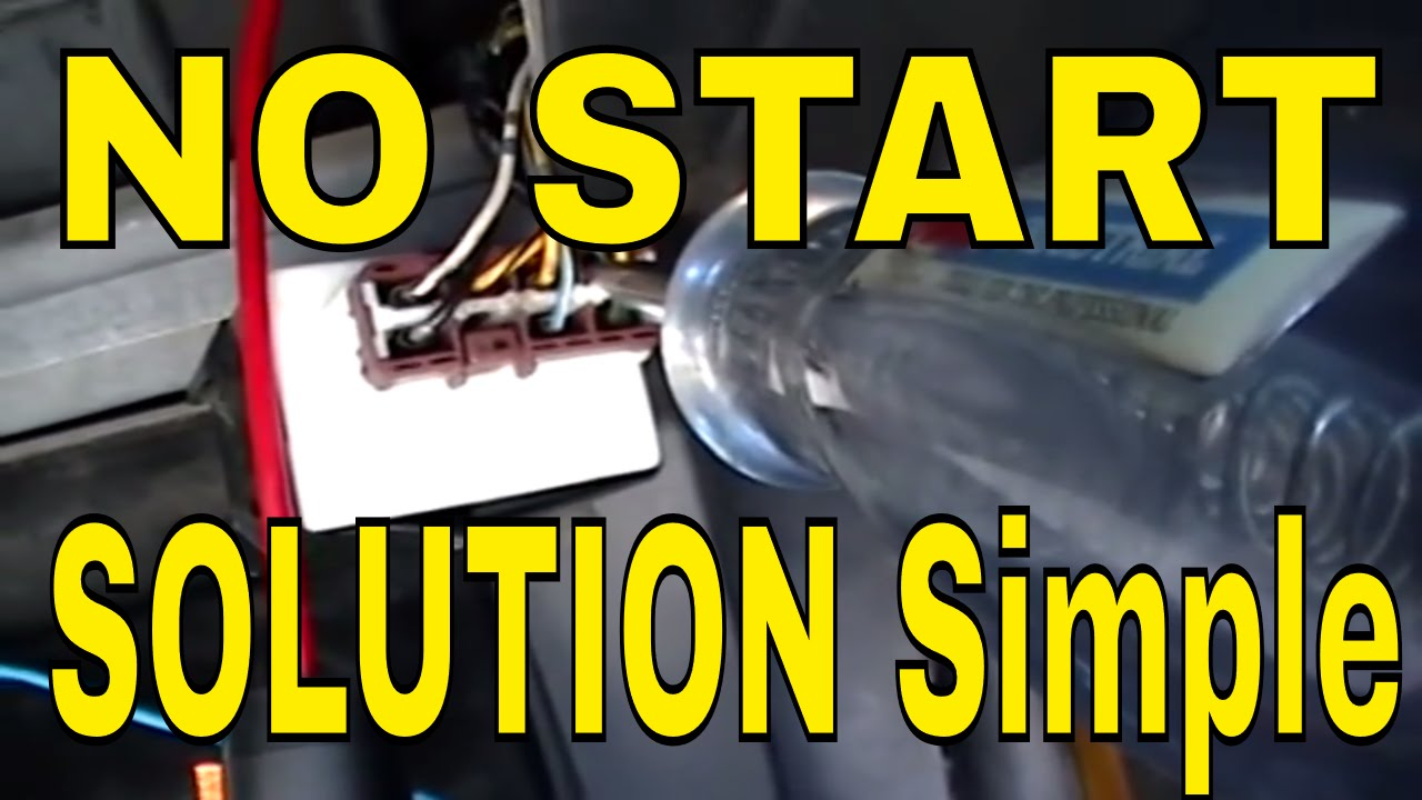 No Start Honda Pgm Fi Main Relay Test Youtube