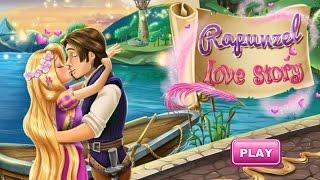 Disney Princess Rapunzel Love Story - Disney Princess Kissing Games