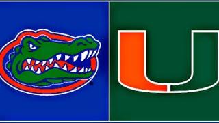 MIAMI (FL) vs #8 FLORIDA - College Football LIVE REACTION