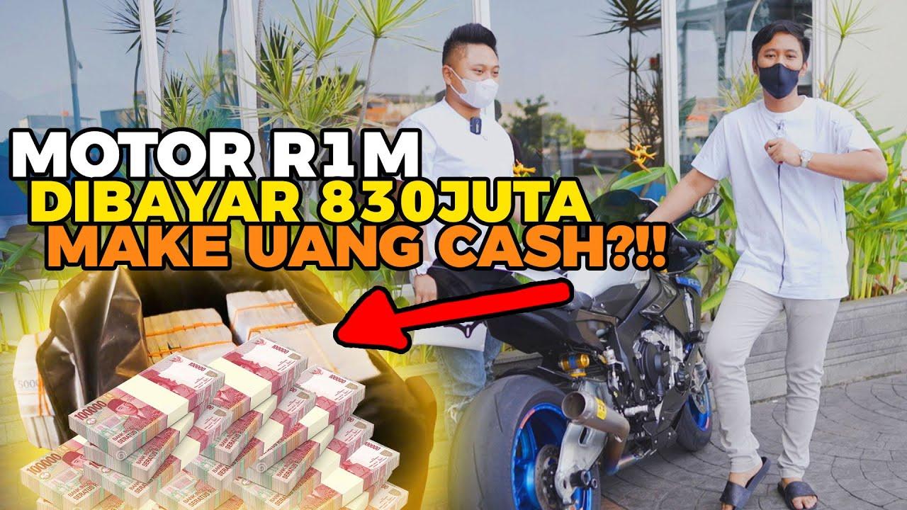 PENYERAHAN MOTOR R1M UNTUK DONASI COV1D