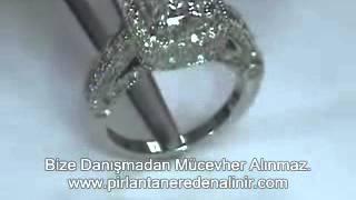 En Ucuz Pırlanta Tek taş yüzük fiyatları, pırlanta Tek taş yüzük modelleri, Roz Diamond 7