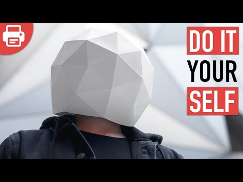 HOW TO MAKE A SPHERE MASK | DIY
