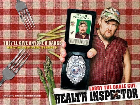 Larry the Cable Guy Health Inspector 2006