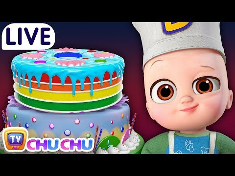 Pat a Cake + Many more Baby Nursery Rhymes & Kids Songs ChuChu TV LIVE