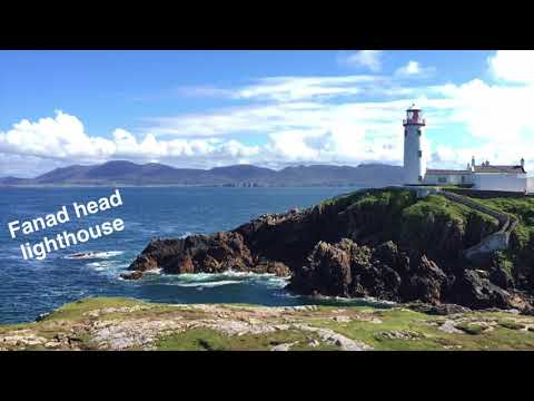 WOW air travel guide application - Donegal
