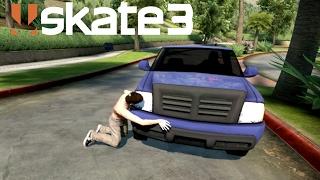 Skate 3 - Hugging Cars [Playstation 3 Gameplay]