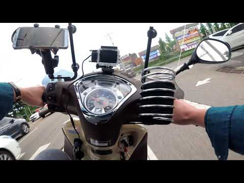 FSH 125 CITY RIDE 4K (Pure Sound. No Wind Noise)(SH MODE 125)