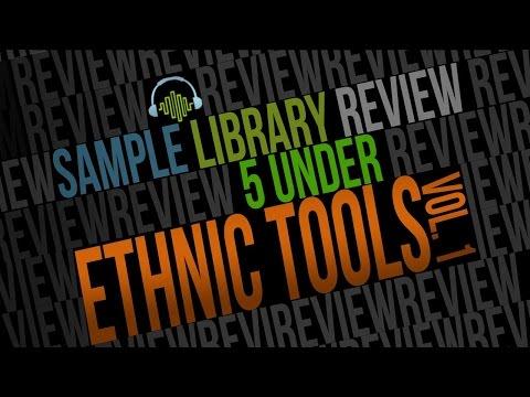 5 UNDER Ethnic Tools Vol 1:  Folk & World Virtual Instruments & Sample Libraries