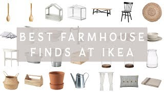BEST FARMHOUSE FINDS FROM IKEA | IKEA Home Decor Haul