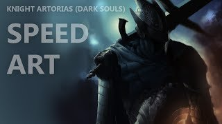 [Art] Knight Artorias (Dark Souls) - Time Lapse