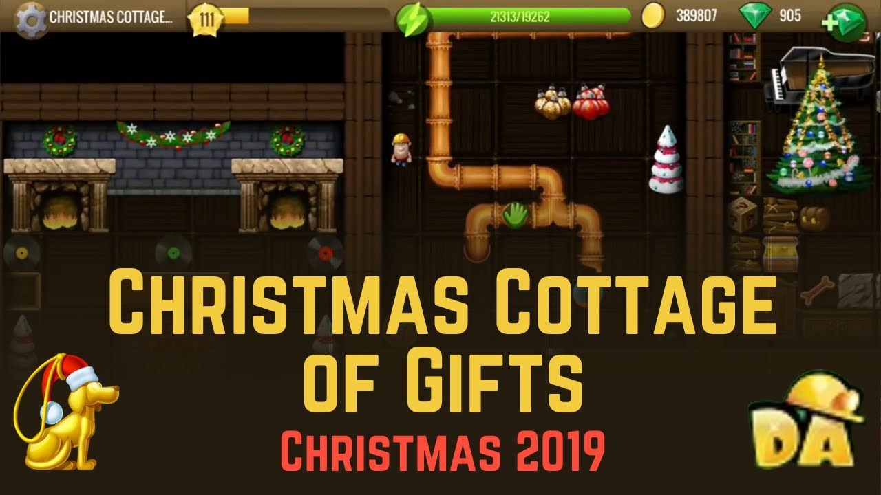 Christmas Cottage of Gifts   #17 Christmas 2019   Diggy's