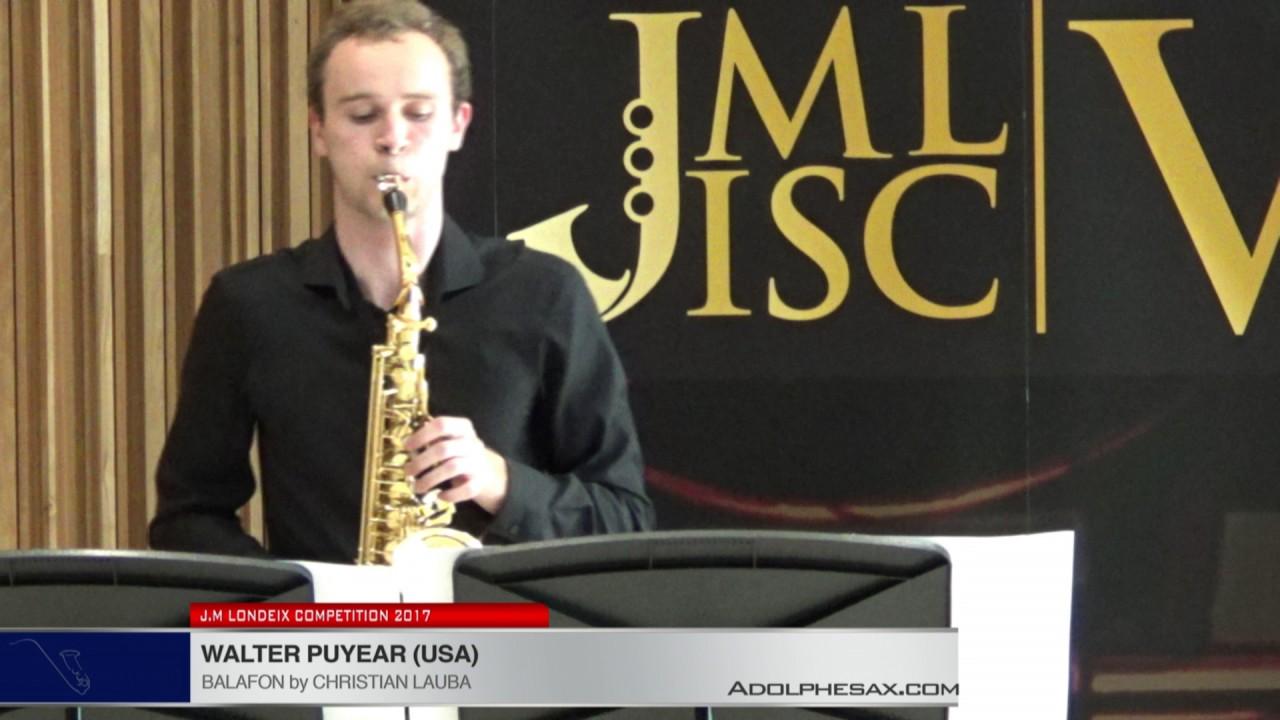 Londeix 2017 - Walter Puyear (USA) - Balafon by Christian Lauba