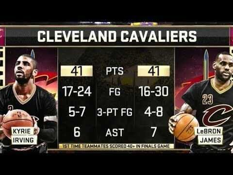 5 Years Ago Today: Kyrie and LeBron Went OFF in Game 5