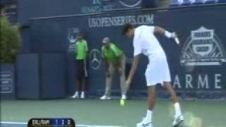 ATP 2011 Los Angeles R1 Erlich/Ram vs Dimitrov/Tursunov Part 7