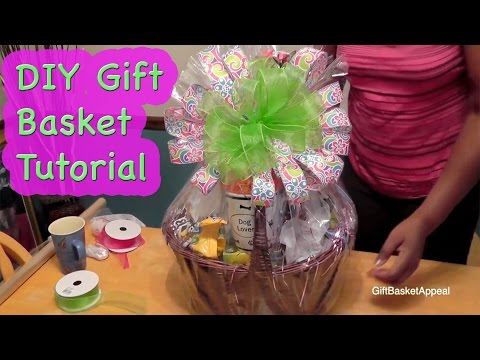 How to Make a Gift Basket   DIY Crafts