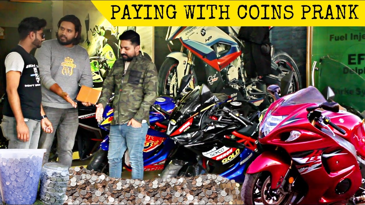 Buying Heavy Bike Using Only Pennies | Prank In Pakistan @That Was Crazy