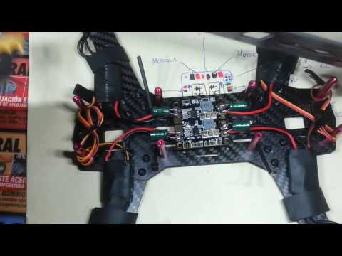 Montaje DRON QAV250 -2ºEdicion- Parte 4.2 PDB