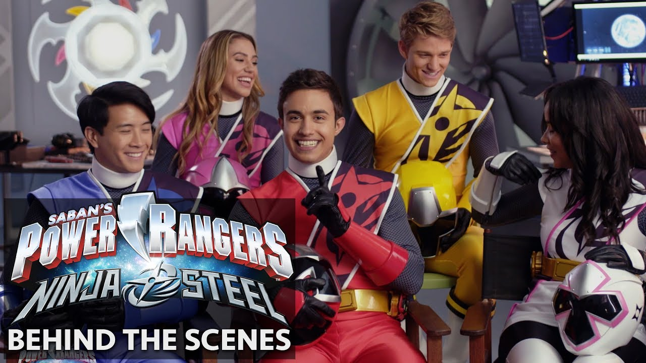 power rangers ninja steel meet the cast role models youtube. Black Bedroom Furniture Sets. Home Design Ideas