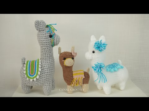 Alpaca Blend Hand knitted Stuffed Llama Amigurumi Toy – Dark Brown ... | 360x480
