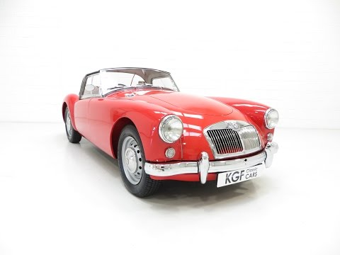 An Original UK Supplied MGA 1500 Roadster with Exceptional Provenance - SOLD!