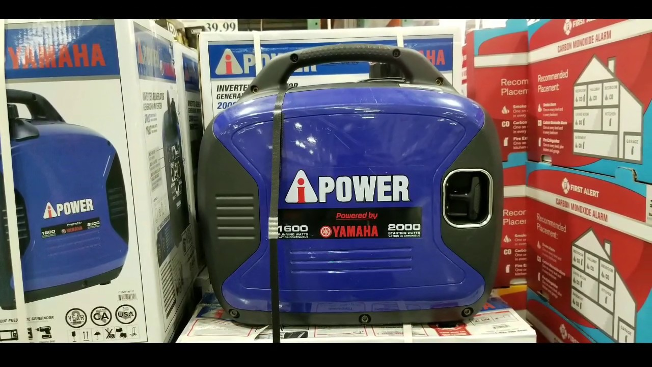 Costco! Ai-Power 1600 Watt Yamaha Powered Inverter Generator! $549!!!