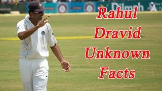 Rahul Dravid Turns 44: 10 unknown facts of The Wall | Oneindia News
