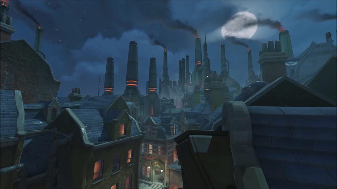 Kings Row Skyline Screensaver Overwatch Youtube