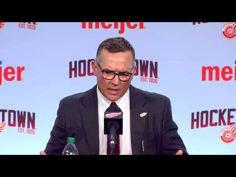 Live with Christopher Ilitch, Steve Yzerman and Ken Holland.
