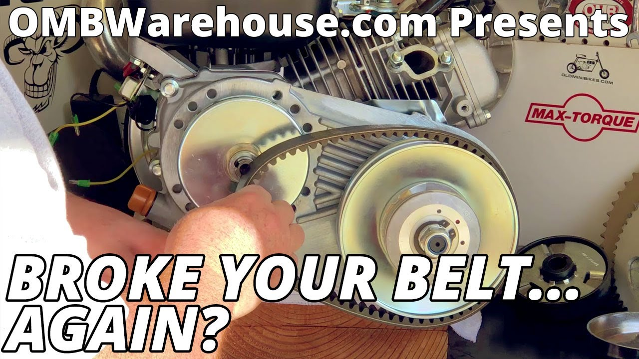How To Change A Torque Converter Belt