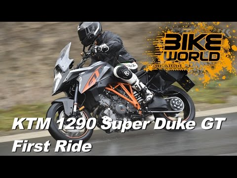 KTM 1290 Super Duke GT Review (First Ride)