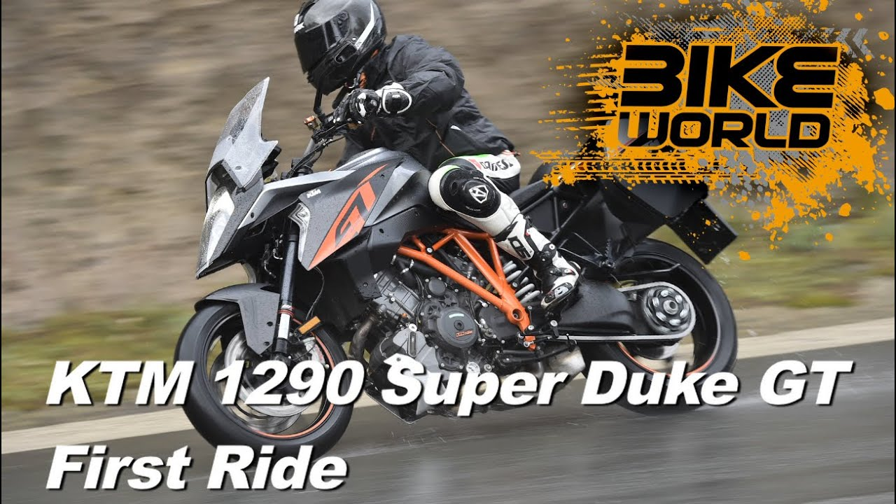 ktm 1290 super duke gt review (first ride) - youtube