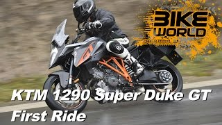 ktm 1290 super duke gt review first ride