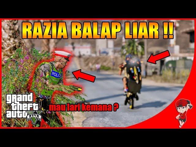 GTA V MOD INDONESIA (35) - RAZIA BALAP LIAR DAPAT KENDARAAN BANYAK wkwkwk