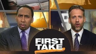 First Take debates if Kevin Durant was lucky to avoid facing Russell Westbrook | First Take | ESPN
