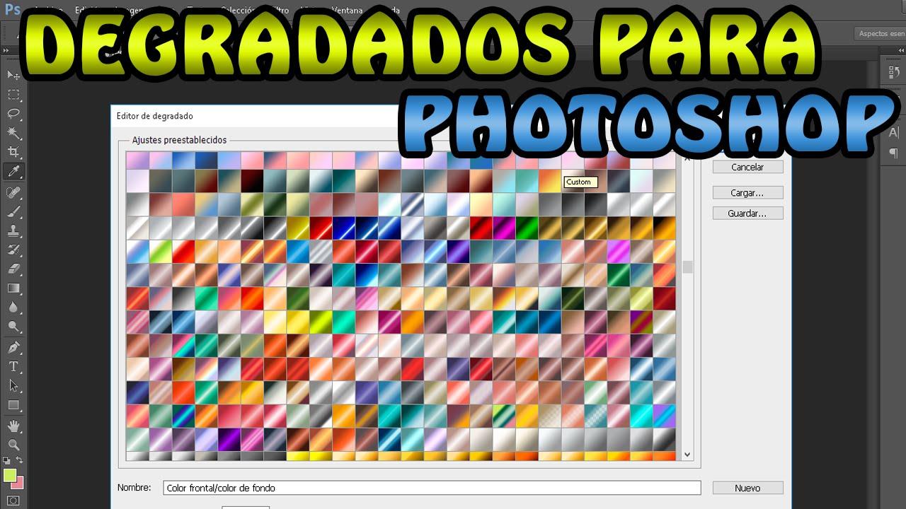 pack de degradados para photoshop cs5