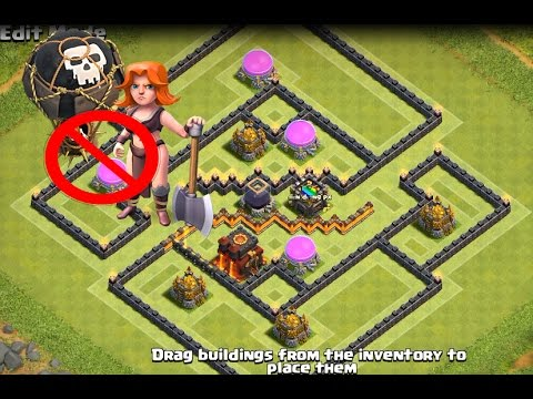 Clash of Clans 2017 - TH10 Farming Base (Tresury) Keep Your Resources Dark / Replays