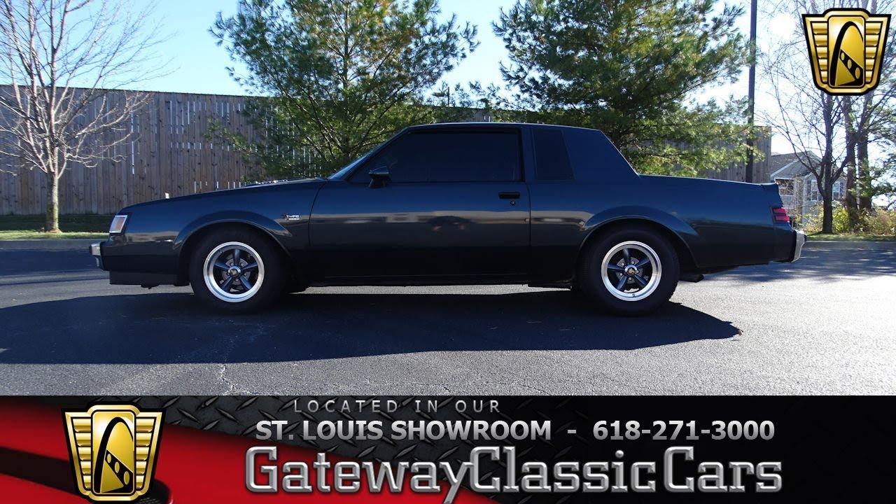 7545 1986 Buick Regal T Type - Gateway Classic Cars of St. Louis ...