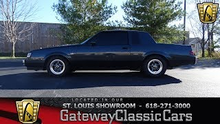 #7545 1986 Buick Regal T Type - Gateway Classic Cars of St. Louis