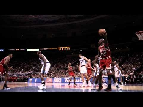 Michael Jordan fadeaway over BJ Armstrong (Native HD, 1080p/30)