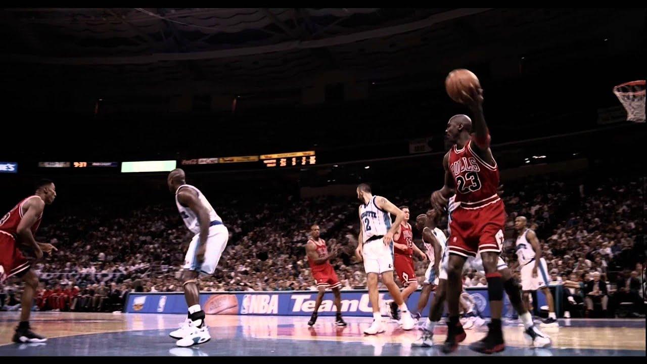 Michael Jordan Wallpaper Hd Michael Jordan Fadeaway Over Bj Armstrong Native Hd