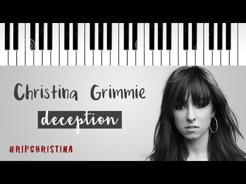Christina Grimmie   Deception   Piano Cover #RIPChristina