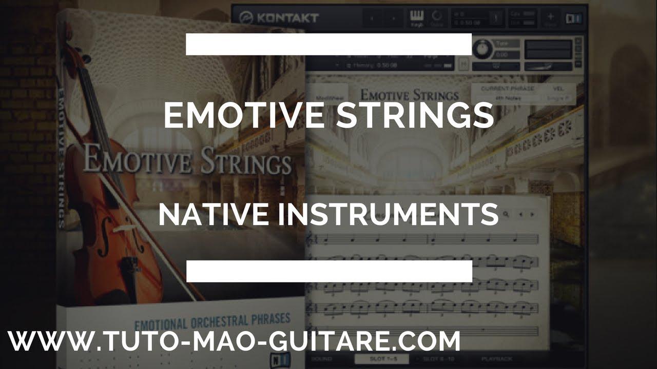 kontakt emotive strings
