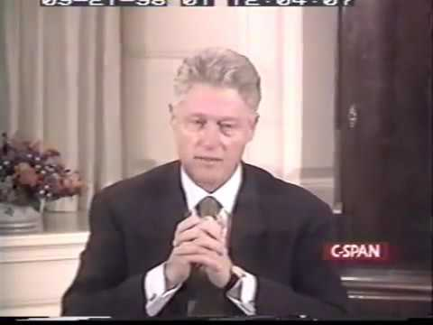 Bill Clinton asked by special prosecutor about using a cigar as a sexual aid on Monica Lewinski