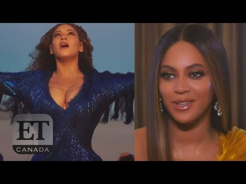 Beyonce Talks 'Spirit' Music Video