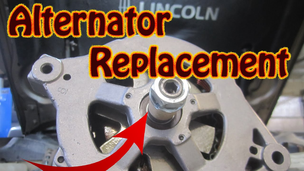 diy how to replace a lincoln continental alternator charge system error fix  [ 1280 x 720 Pixel ]