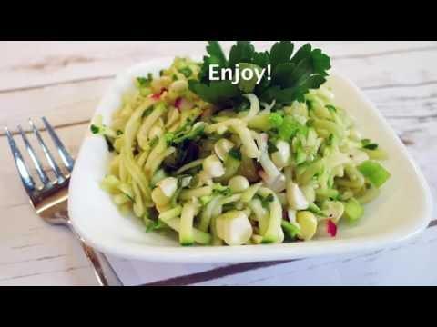 Grilled Zucchini Corn Salad