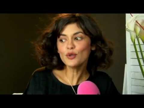 Une rencontre avec Audrey Tautou pendant le Festival de Cannes