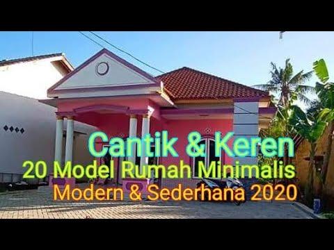 20 model rumah minimalis modern dan sederhana 2020 - youtube