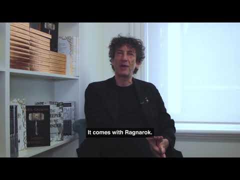 Neil Gaiman on Writing Myths